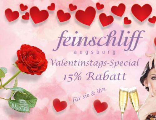 Feinschliff Augsburg Valentinstags-Special